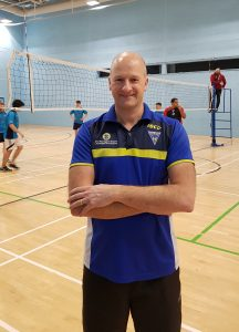 Operations Director on Volleyball Court