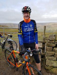 Neil Shand and Bike